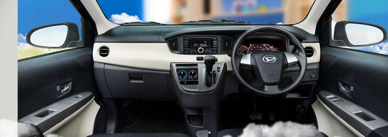 Interior Daihatsu Sigra